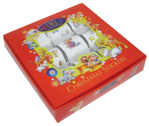 Christmas Stickers Box Set (Candle Bible for Toddlers) - Christmas Stickers Box Set