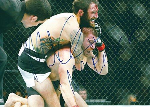 Autographed Michael Chiesa UFC & MMA 8x10 photo with COA