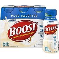 BOOST Plus Calories Vanilla, 24x237ml (Pack of 24)
