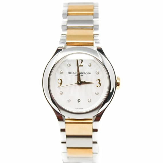 Baume et Mercier Ilea cuarzo mujer reloj moao8774 (Certificado) de segunda mano: BAUME ET MERCIER: Amazon.es: Relojes