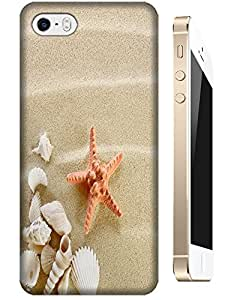 Orange Starfish accessories cell phone cases for Apple Accessories iPhone 5/5S