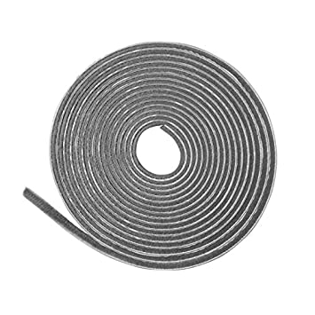 4,5 m grau Staubschutzb/ürste 24 mm Borsten