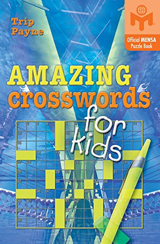 Amazing Crosswords for Kids (Mensa) by Puzzlewright