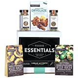 Urban Accents FOODIE ESSENTIALS Seasoning Gift Set (Set of 5) Gourmet Set of Grill Seasonings, Spices, Rubs and Dryglaze for Meats, Veggies and More- Perfect Gift for Any Occasion