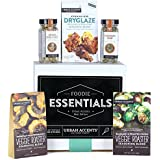 Urban Accents FOODIE ESSENTIALS, Gourmet Gift Set, A Collection of Spices, Veggie Roasters and Dryglazes, Perfect for Weddings, Housewarmings or Any Occasion