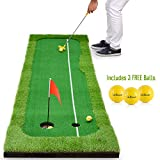 Best Indoor Putting Greens - Abco Tech Synthetic Turf Putting Practice Indoor Golf Review