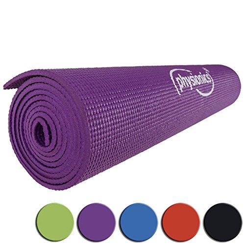 Physionics Gymnastik Fitnessmatte, FNMT05-0.5Violett
