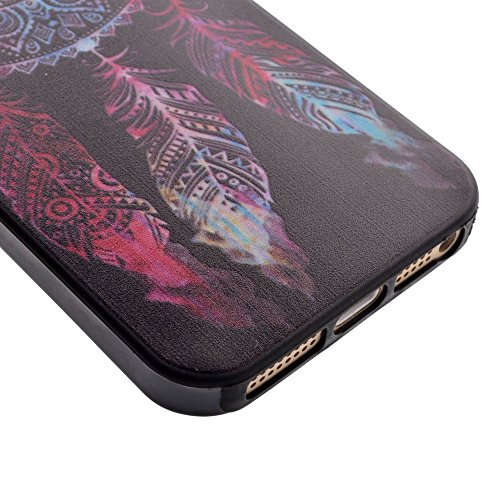 HYAIT® For IPHONE 5S/SE [XXG BLACK V1]Scratch-Proof Ultra Thin Rubber Gel TPU Soft Silicone Bumper Case Cover -BKI07