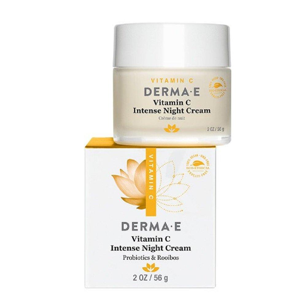 DERMA E Vitamin C Intense Night Cream 2oz 0030985003703
