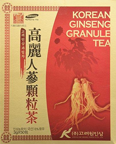 [HEALTH TEA] Korea Food Korean Ginseng Granule Tea 3g X 50T 인삼차...