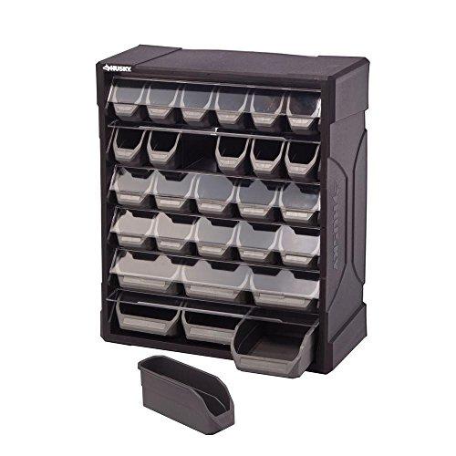 Phantomx Small Parts Storage Drawers Organizer Bin Box Cabinet Wall Mountable Garage