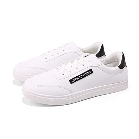 SHE.White - Zapatillas unisex Low Basic, informales, de piel ...