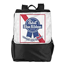 Pabst Blue Ribbon Outdoor Camping/ Hiking/ Travel Backpack, Multipurpose Daypack Book Bag For Men & Women
