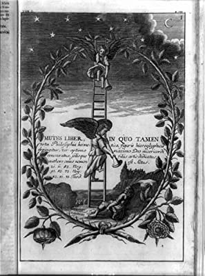 Foto: Mutus Liber, quo tamen, Ángeles, escalera de Jacob, dormir, bíblica eventos, texto, 1702: Amazon.es: Hogar