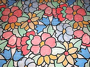 Stained Glass Window Film Contact Paper