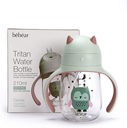 Kids Baby Sippy Drinking Water Bottle Cup Straw Toddler Anti Spill Popular Wyas