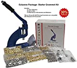 Micron TEP-3 Starter Grommet Kit! (Machine, 6 Sets of Dies, 1,500 pcs Grommets & Washers)