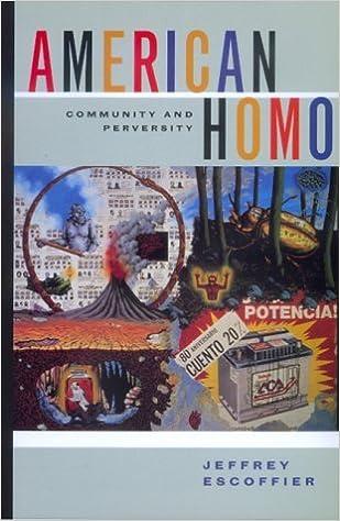 Book American Homo: Community and Perversity by Jeffrey Escoffier (1998-09-24)