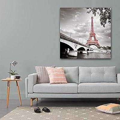 Eiffel Tower in Paris France - Canvas Wall Art Print