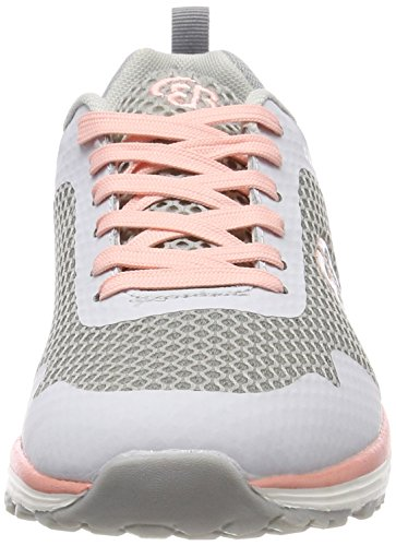 Sneakers lachs Gris Brütting Basses Femme grau Movement Grau lachs Bxxnqw5
