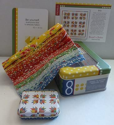 Moda Frivols #8 Collectors Tin with Bread and Butter by American Jane from Moda Fabrics