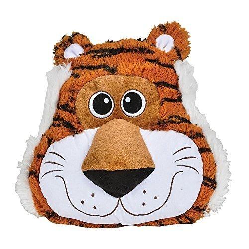 One Tiger Theme Plush Throw Pillow - 11''