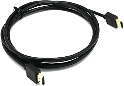 Biback Cable HDMI 1080P Ultrafino 1.4 Cable de conexión Adaptador ...