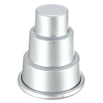 El Rey DO forma Mini magdalena hornear molde pastel de la lata de la galleta de