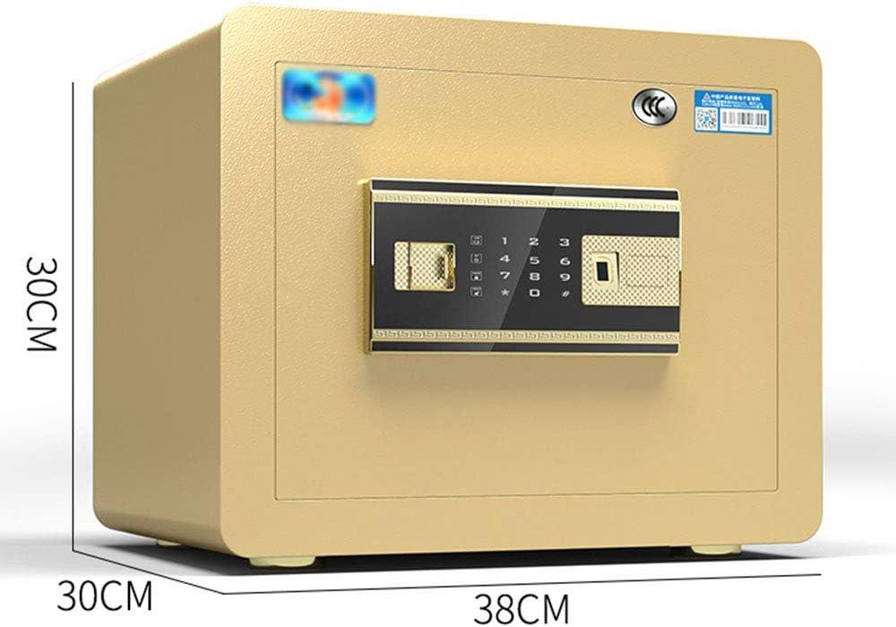 総本店の指紋のパスワードの金庫、すべて鋼鉄壁に壁のベッドサイドのセキュリティ箱、30cm