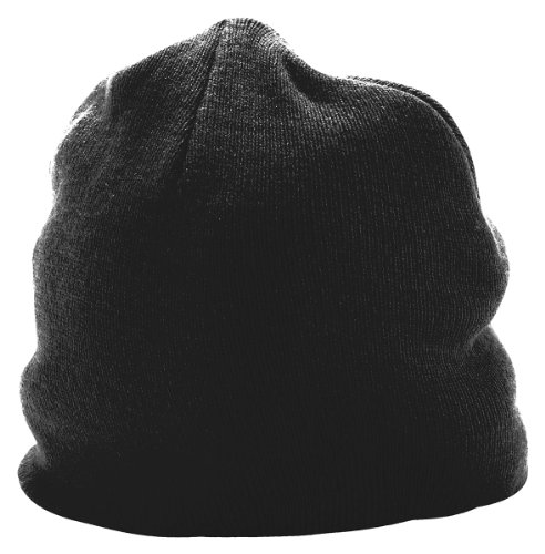picture of Augusta Sportswear 6815 Adult's Knit Beanie Black One Size