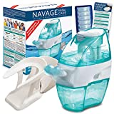 Navage Nasal Hygiene Essentials Bundle: Navage Nose Cleaner, 40 SaltPod Capsules, and Countertop Caddy. 126.90 if Purchased Separately, You Save 26.95. for Improved Nasal