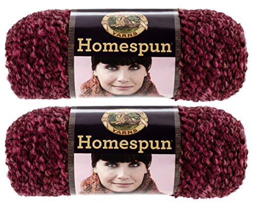Homespun Yarn-Claret