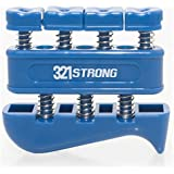 Finger Strengthener and Hand Exerciser for Guitar , Piano , or Therapy - Blue