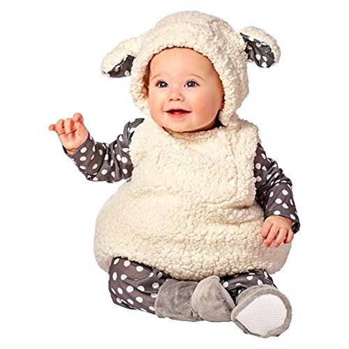 Plush Lamb Vest Infant Costume (0-6 -