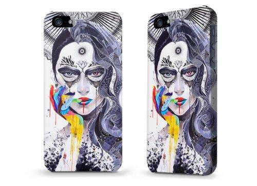 """Hülle / Case / Cover für iPhone 5 und 5s - """"Janus"""" von Minjae Lee"""