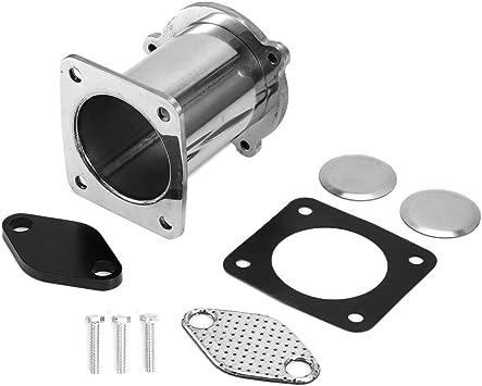 Kimiss Edelstahl Auto Agr Delete Cooler Delete Removal Kit Passend Für E87 E90 E60 E70 Auto
