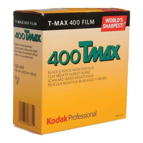 KODAK T-Max 400, 400TMY-402, Black & White Negative Film ISO 400, 35mm Size, 100' Roll,
