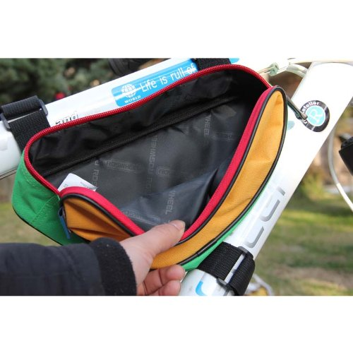 Roswheel Cycling Bicycle Bike Bag Top Tube Triangle Bag Front Saddle Frame Pouch Outdoor