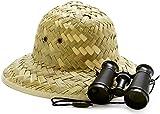 BirthdayExpress Jungle Safari Party Supplies - Pith Helmut Adventure Set