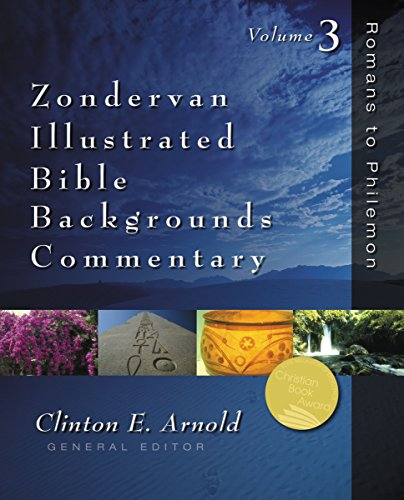 Romans to Philemon: Volume Three (Zondervan Illustrated Bible Backgrounds Commentary Book 3) by [Zondervan,]