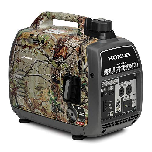 Honda 2200-Watt 120-Volt Super Quiet Portable Inverter Generators (EU2200i Inverter - Camo) HONDA