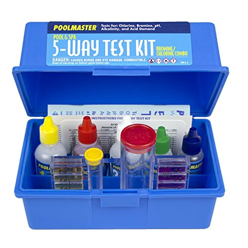 Poolmaster 22260 5-Way Test Kit with Case - Basic Collection (1 Unit)