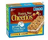 General Mills, Honey Nut Cheerios, Milk 'n Cereal Bars, 6-Count, 8.5oz Box (pack of 12)