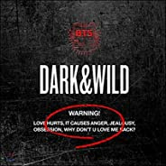 BTS 1st Album [DARK & WILD] CD + PhotoCard + PhotoBook + Message Photocards Set K-POP Sealed BAN