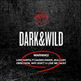 BTS 1st Album [DARK & WILD] CD + PhotoCard + PhotoBook + Message Photocards Set K-POP Sealed BANGTAN