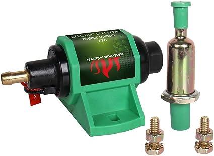 Universal Electric Fuel Pump Diesel External Applications 35 GPH 4-7 psi New