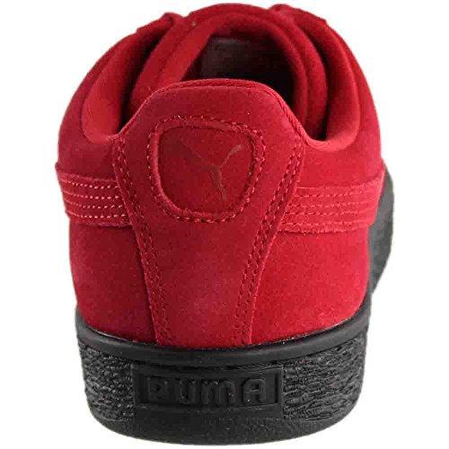 350734 Red Puma Classic Sneaker Black Suede Herren BqXXwEr