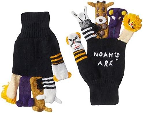 [해외]Kidorable Boys` Little Noahs Ark Glove / Kidorable Boys` Little Noahs Ark Glove, Black, Large (ages 9 and up)