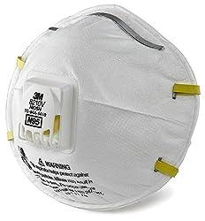 3m Particulate Respirator 8210v, N95 Respiratory Protection (3 Respirator)