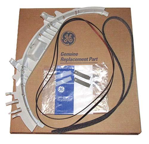 - Dryer Bearing Belt Felt Slides Kit that works with GE DVLR223EE0WW